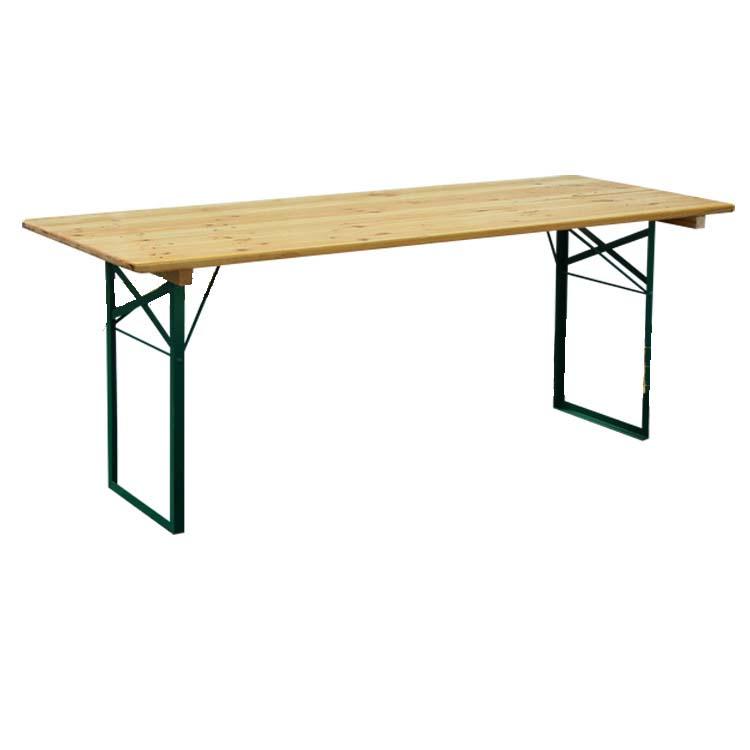 table de type kermesse