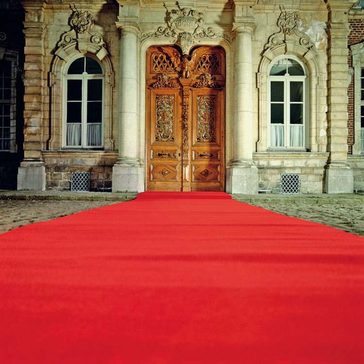 tapis rouge de ceremonie