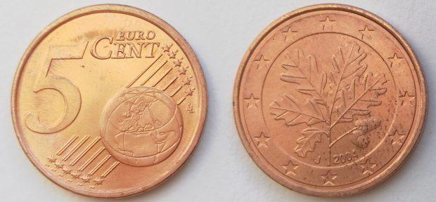 5 Cent Allemagne 2004J