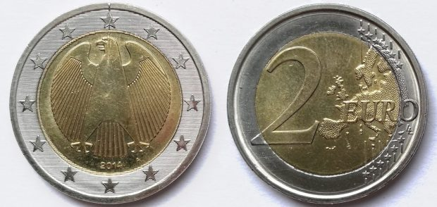 2 Euro Allemagne 2014A