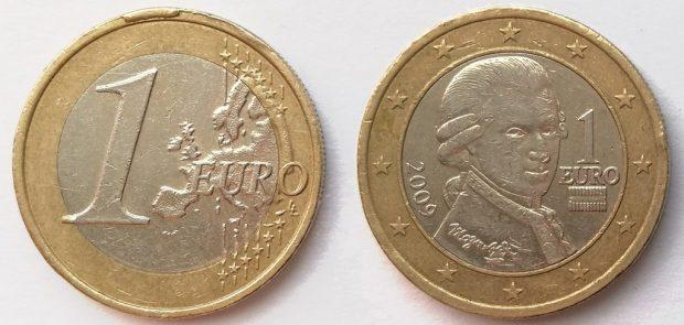 1 Euro Autriche 2009
