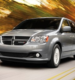 2019 dodge grand caravan exterior view in grey driving [ 1200 x 800 Pixel ]
