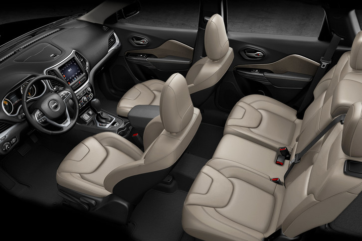 2018 Jeep Cherokee Interior Limited