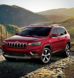 jeep cherokee 2019 red 4x4 outdoors [ 1920 x 1280 Pixel ]