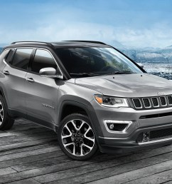 2019 jeep compass parked in charcoal grey [ 1920 x 1280 Pixel ]