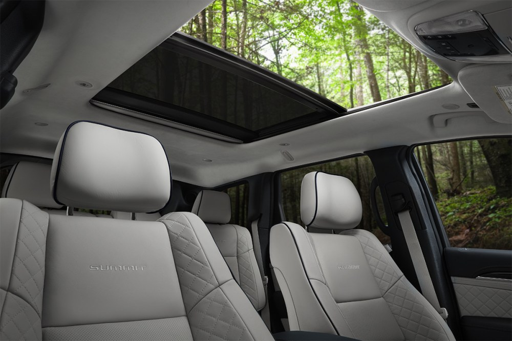 medium resolution of 2019 jeep grand cherokee with grey leather interior and sunroof