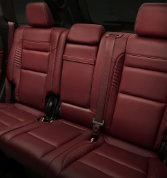 2019 jeep grand cherokee interior view showing burgundy rear seats [ 1920 x 1280 Pixel ]