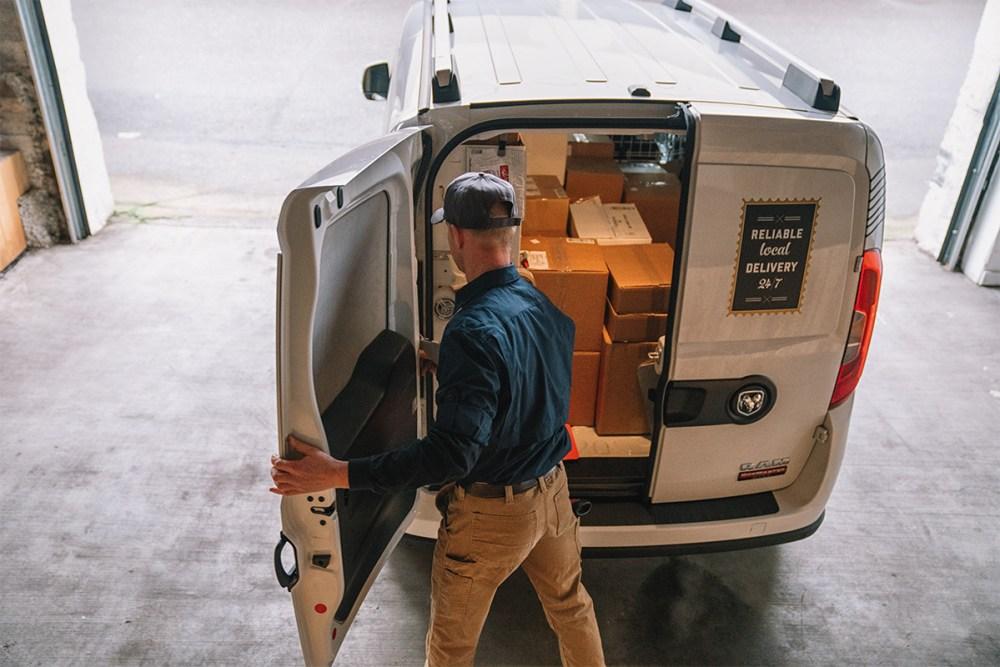 medium resolution of 2019 ram promaster city open rear cargo door