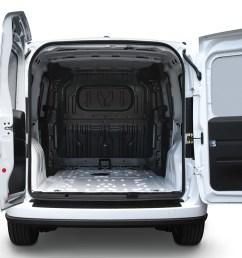 2019 ram promaster city exterior view with open rear doors [ 1200 x 800 Pixel ]