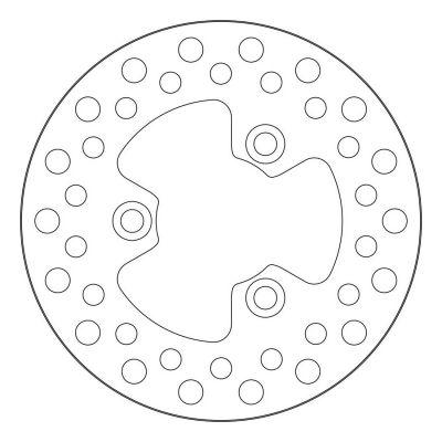 Disque de frein NG Brake Disc D.180 avant fixe Kymco
