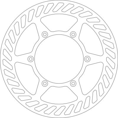 Disque de frein Galfer wave fixe Enduro 220x4mm DF678WLL
