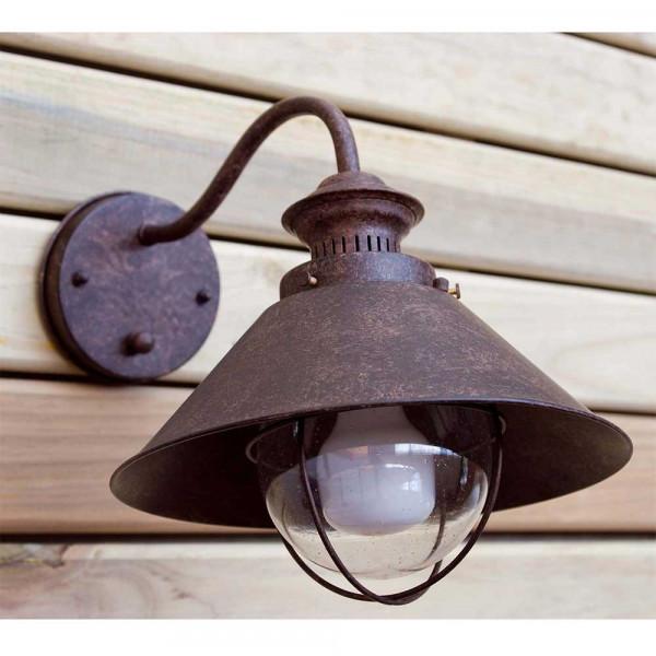 Applique extrieure rouille  achat luminaire extrieur Faro