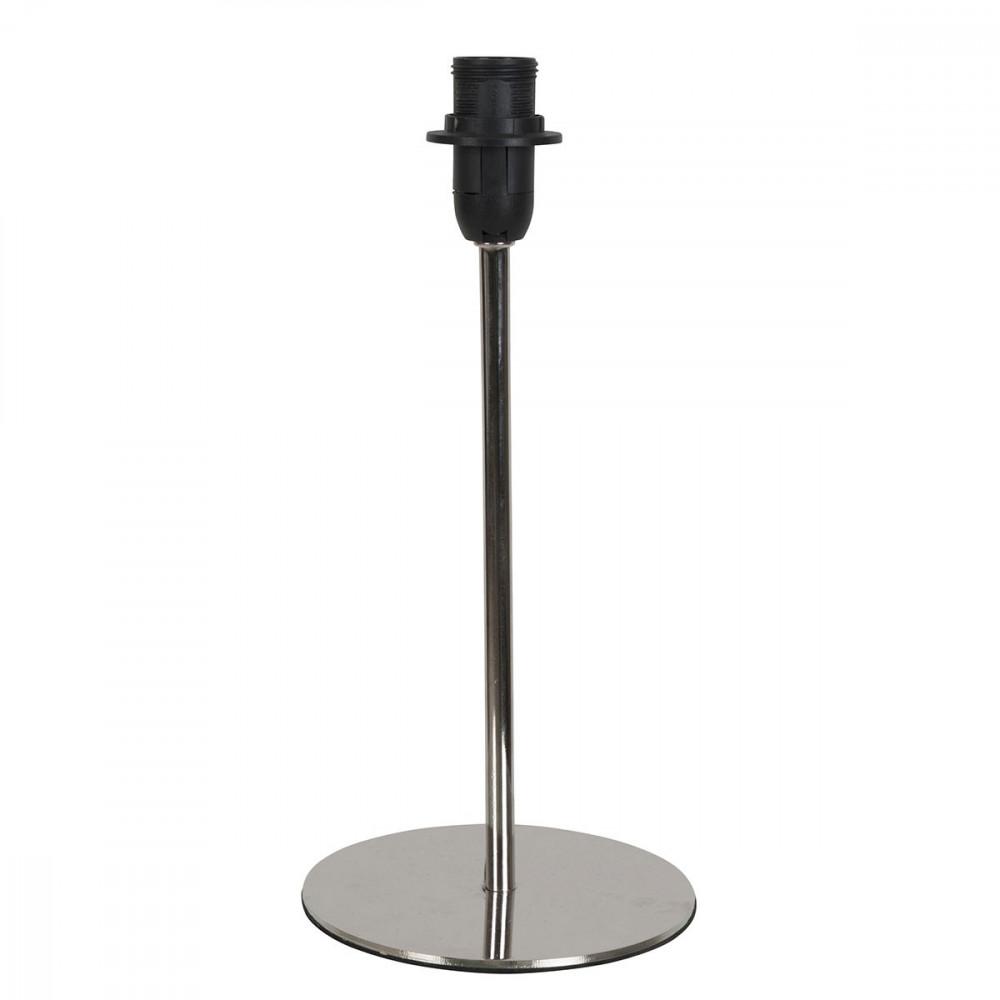 pied de lampe en metal base ronde