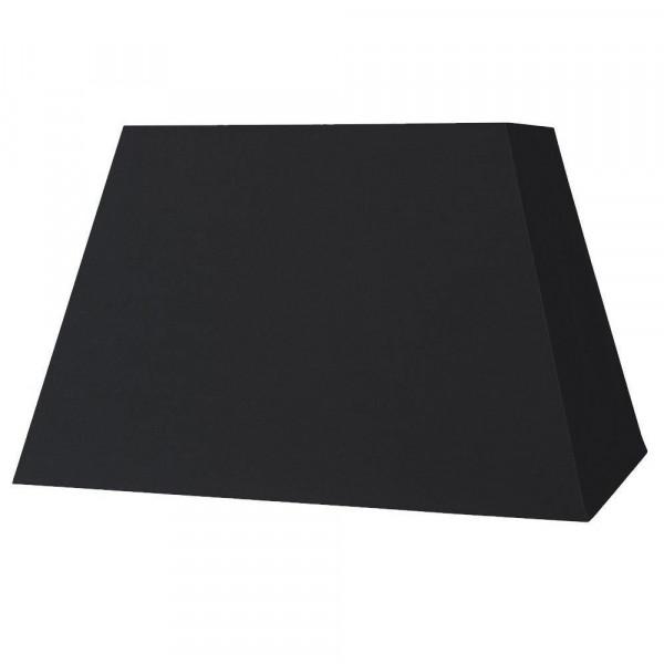 abat jour rectangle pyramide noir