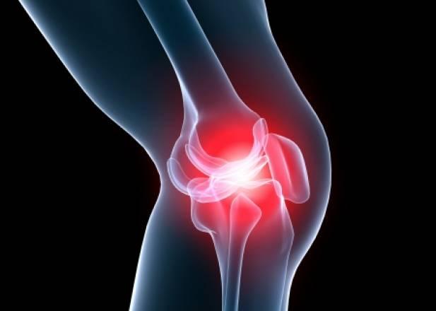Comment arrive la blessure au niveau du genou ?