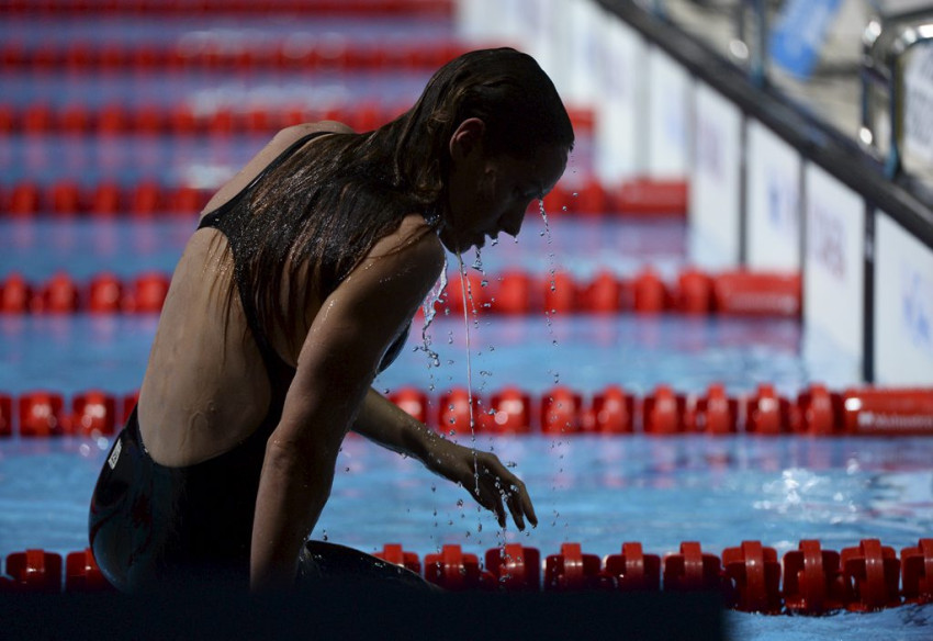 Natation  Camille Muffat sa carrire en images