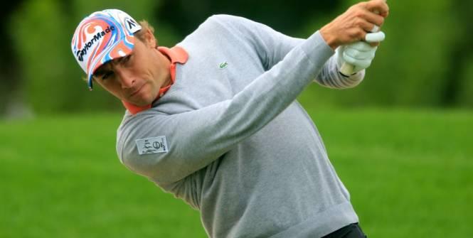 Golf - Tour Européen - Depuis mai 2015, Benjamin Hébert a choisi Cyril Miranda pour l'accompagnateur sur le Tour Européen (Phil Inglis / Banque commerciale / DR)