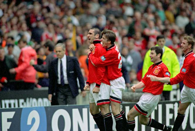Eric cantona says the goal he scored for manchester united against liverpool in the fa cup final in 1996 was the best of his career. Foot - Retro - Avant Benzema, les Bleus sans Cantona ...