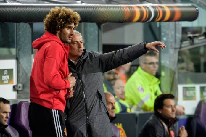 Fellaini played for two and a half years under Mourinho until December 2018. (Schueler / EXPA / Presse Sports)