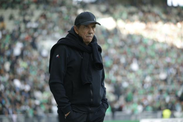 Football - Ligue 1 - Jean-Louis Gasset was satisfied with the performance of his team. (A. Martin / The Team)