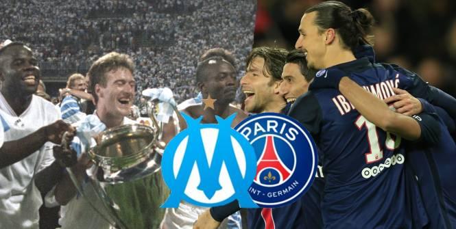 Ligue 1  Psg 2016 Contre Om 1993, Qui Est Le Meilleur