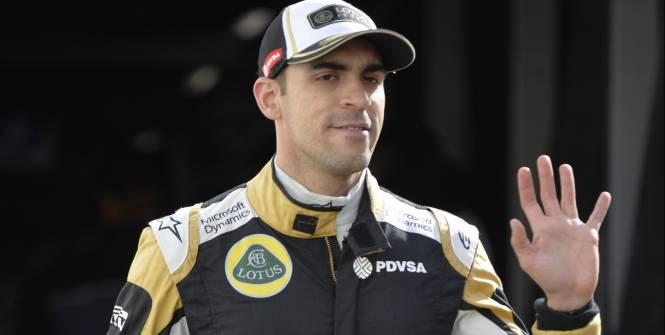 Pastor Maldonado restera chez Lotus la saison prochaine. (L'Equipe)