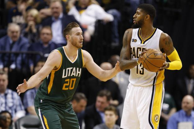 Basket - NBA - Malgré les 38 points de Gordon Hayward, les Indiana Pacers de Paul George ont dominé le Utah Jazz. (Reuters)