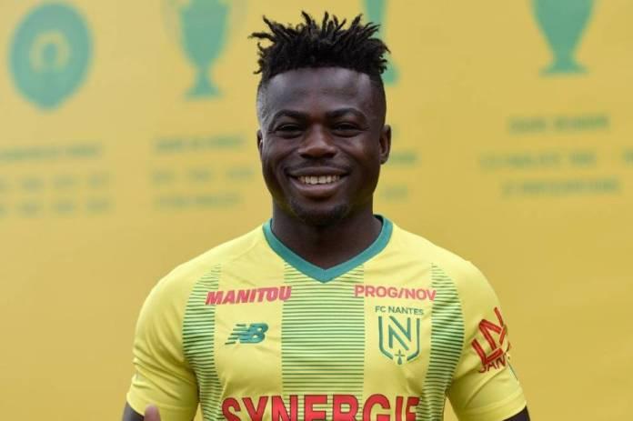 Moïse Simon est prêté par Levante. (Photo FC Nantes)