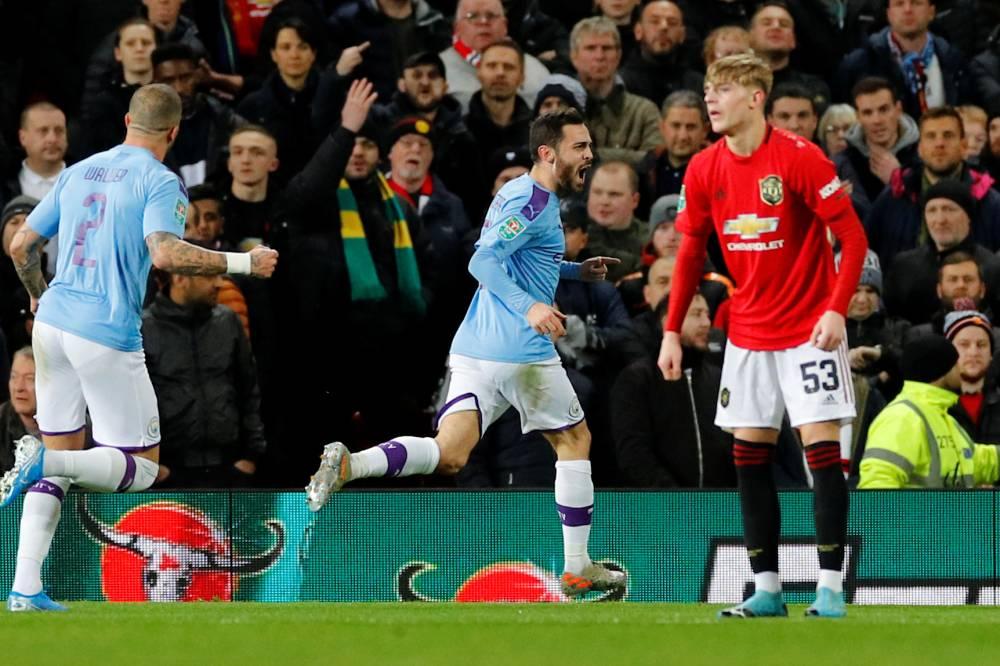 Ang - Carabao cup - Manchester City dispose facilement de Manchester United à Old Trafford et prend une sérieuse option sur la finale de la ...