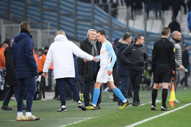 Football - Football - Thauvin has tormented the VAR. (F. Faugère / The team)