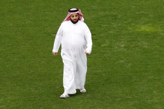 Football - Alexis Danjon - Turki al-Cheikh, le chef de l'autorité sportive saoudienne. (Reuters)