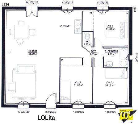Modle Et Plans Lolita Du Constructeur Maison LOL