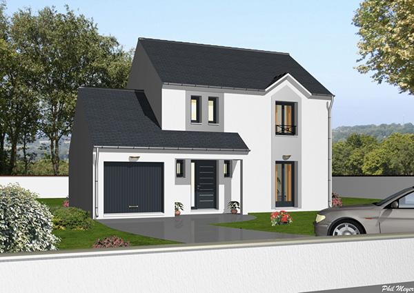Modle et plans Ormesson du constructeur Maisons DEAL