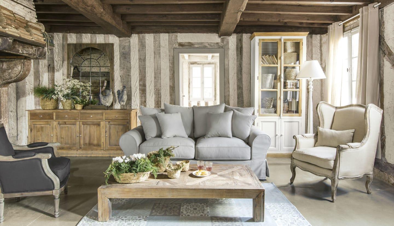 Questa particolarità permette di estendere il piano da 120 cm a 170 cm e fino a 200 cm. Stile Provenzale Mobili E Arredamento Maisons Du Monde