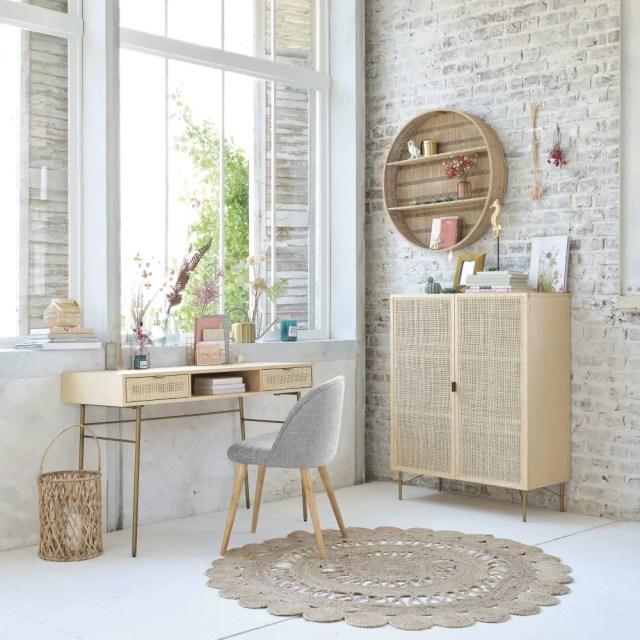 mueble aparador fibras naturales