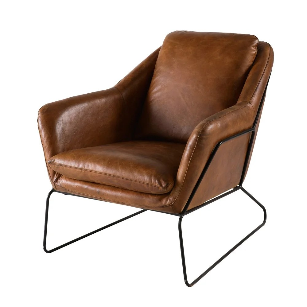 Brown Leather Chairs Brown Leather Armchair