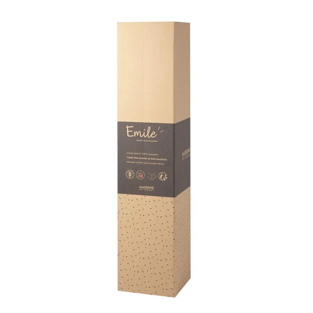 Materasso arrotolato in schiuma di poliuretano 160x200 cm