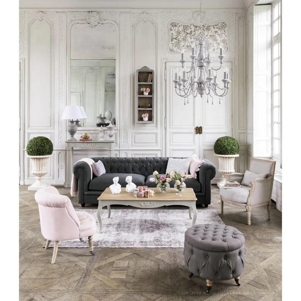 pouf contenitore maison du monde maison du monde pouf. Black Bedroom Furniture Sets. Home Design Ideas