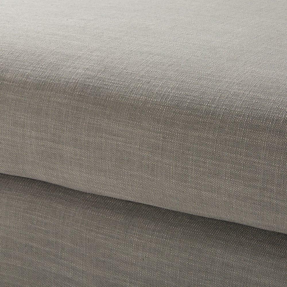 Pouf per divano componibile grigio chiaro Terence  Maisons du Monde