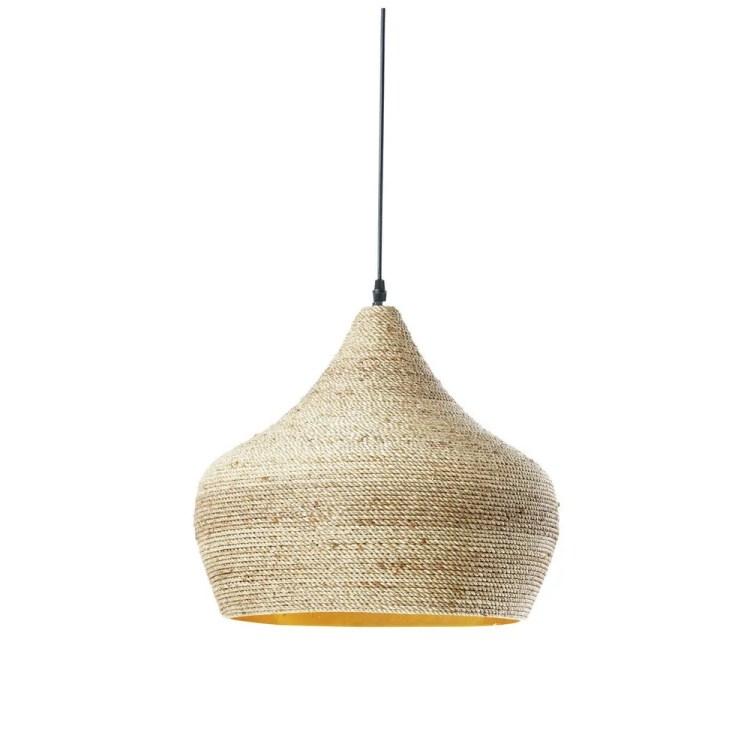 Rattan Pendant Lamp D40 Ghabou