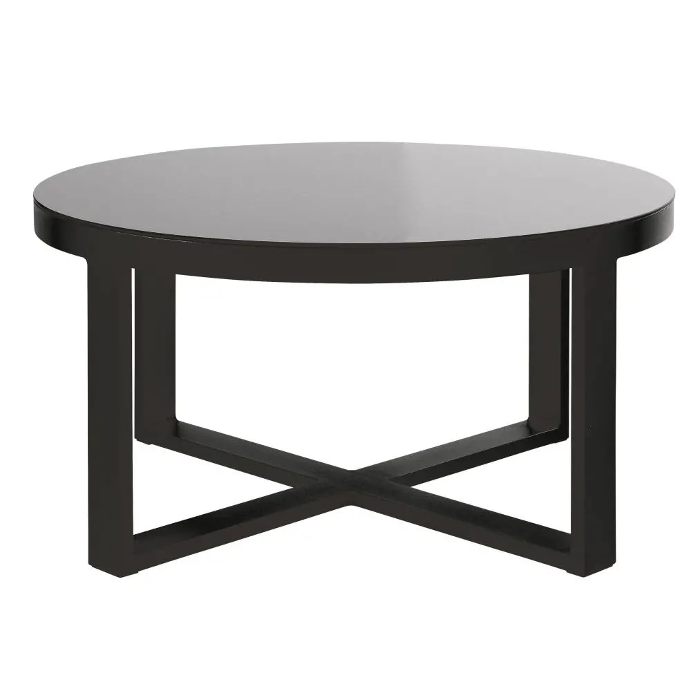Beautiful Table De Jardin Plateau Verre Noir Pictures - House Design ...