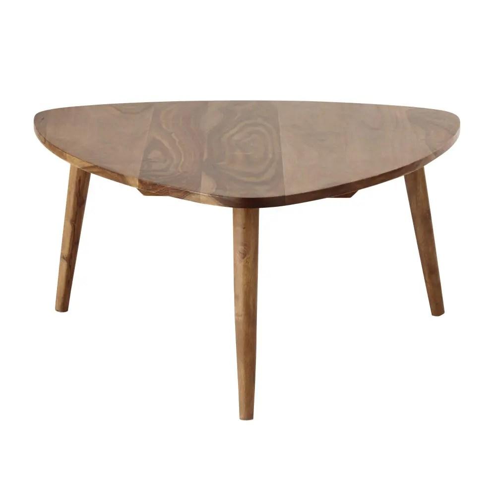 Vintage salontafel van massief sheesham hout Andersen