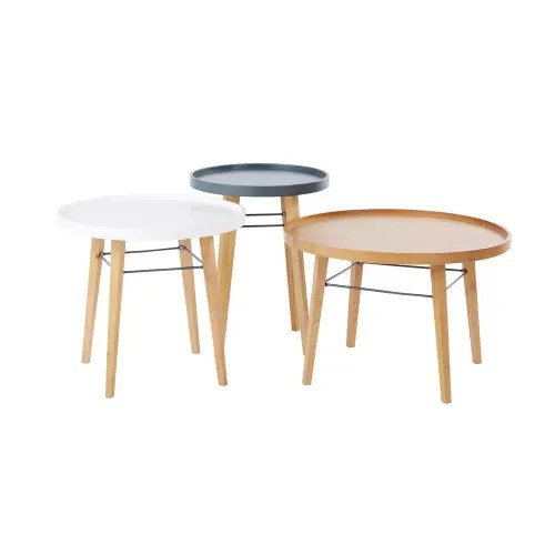 3 coffee tables maisons du monde