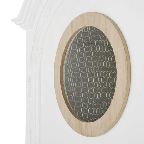 armoire bonnetiere 1 porte 1 tiroir blanche maisons du monde