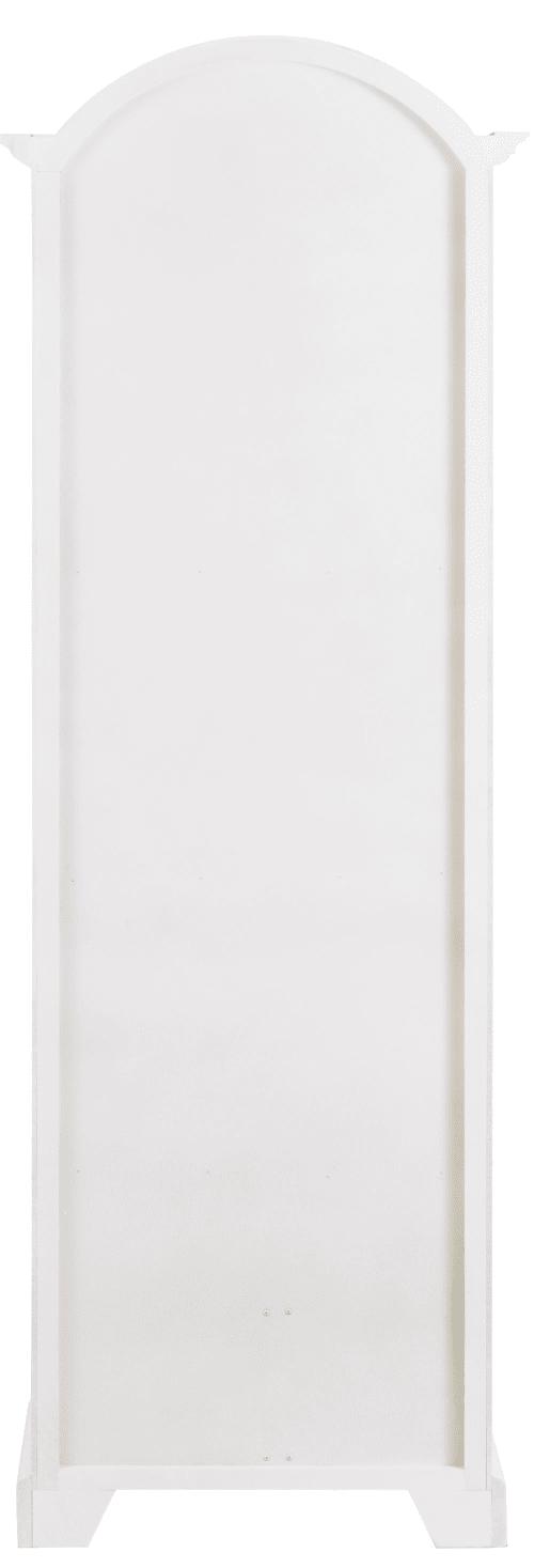 armoire bonnetiere blanche 1 porte 2 tiroirs maisons du monde