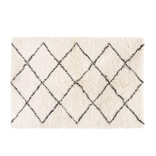 berber teppich aus wolle und baumwolle 160x230 maisons du monde