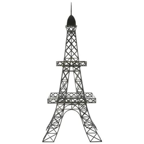 black metal eiffel tower