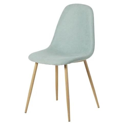 chaise style scandinave bleu clair maisons du monde
