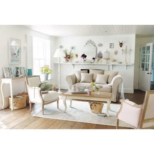 console table in cream maisons du monde