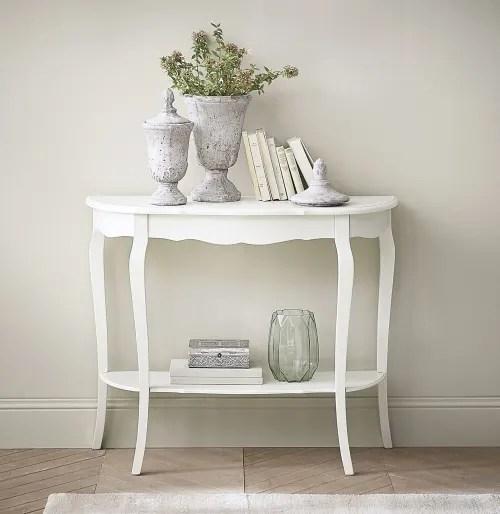 Catalogo online, storia, stile e mobili per arredare casa. Consolle Bianca In Legno L 94 Cm Seraphine Maisons Du Monde